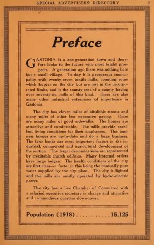 Gastonia City Directory, 1918-1919, p. 9.