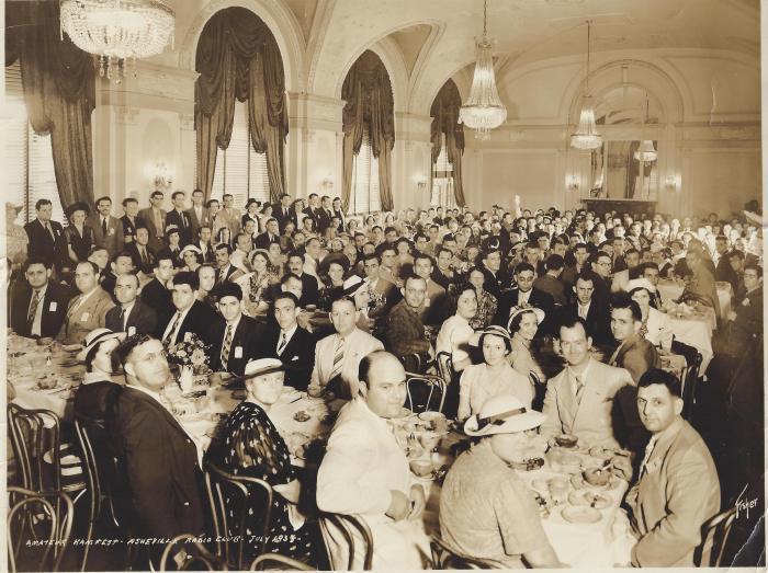 Hamfest banquet 1939