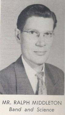 Ralph Middleton, SHHS 1954