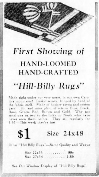 hill-billy rugs