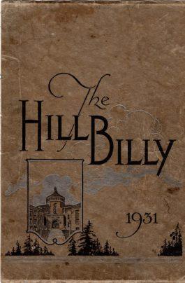 Hillbilly 1931 cover
