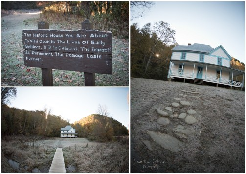 Caldwell Place at Cataloochee Valley.
