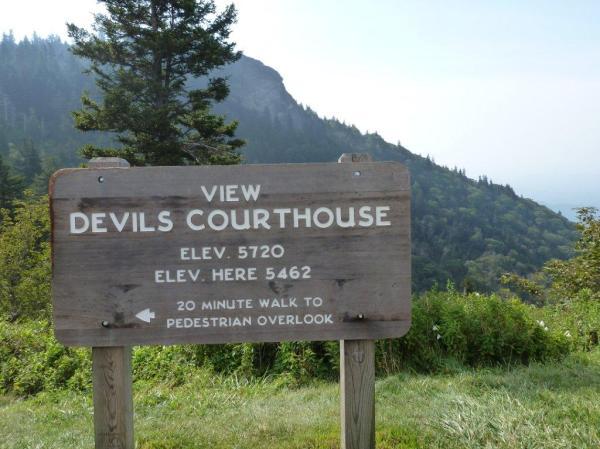 Asheviller » Blog Archive » Devils Courthouse