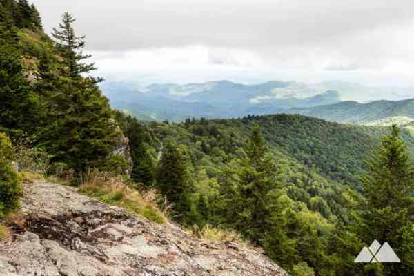 Devils Courthouse to Black Balsam Knob on the Mountains to ...