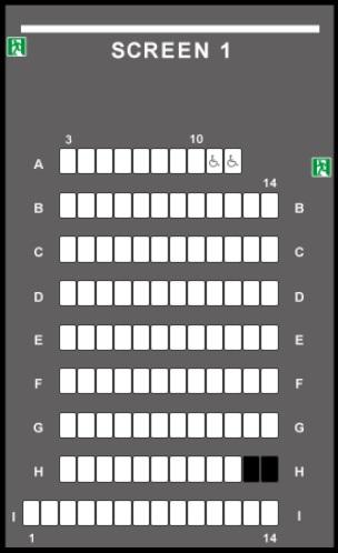 TOHOシネマズ西新井の予備席sc01