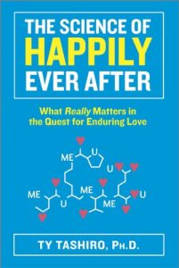 book cover the science of happily ever after