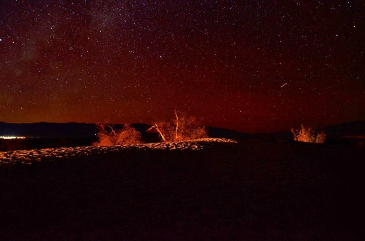 Starry night at Death Valley