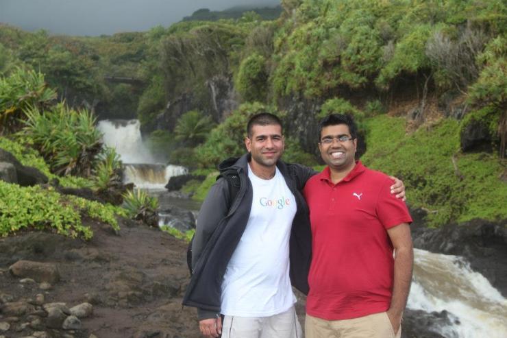 My trip overlapped with Deepak Sharma
