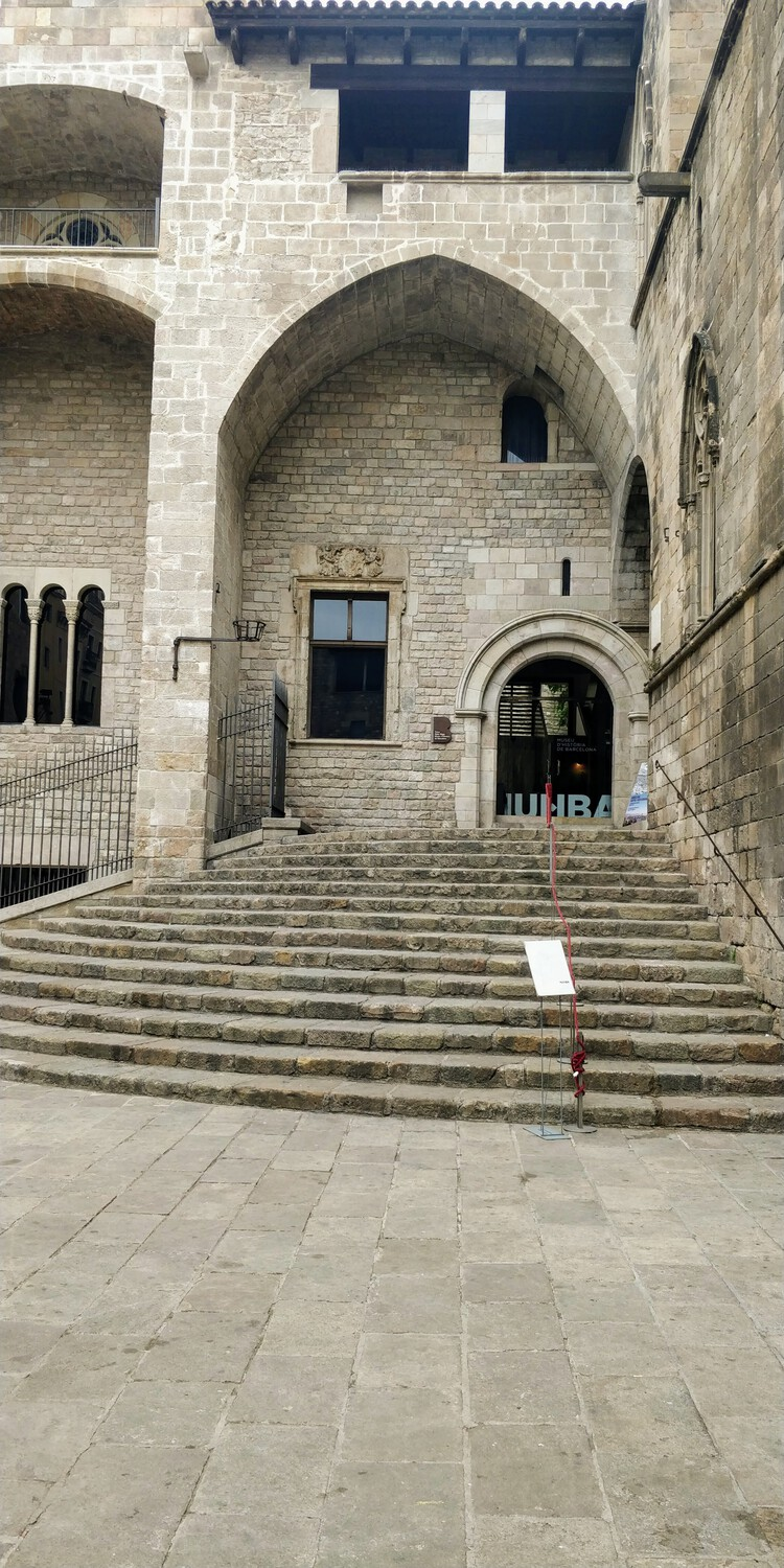 Christopher Colombus climbed these steps 400 years back