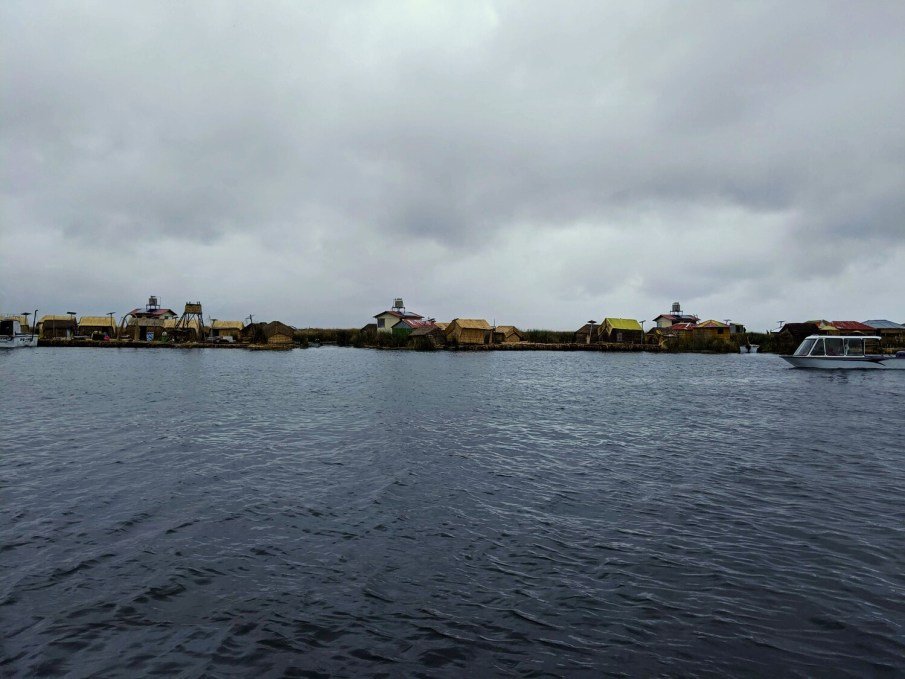 Floating island of Uros - 1