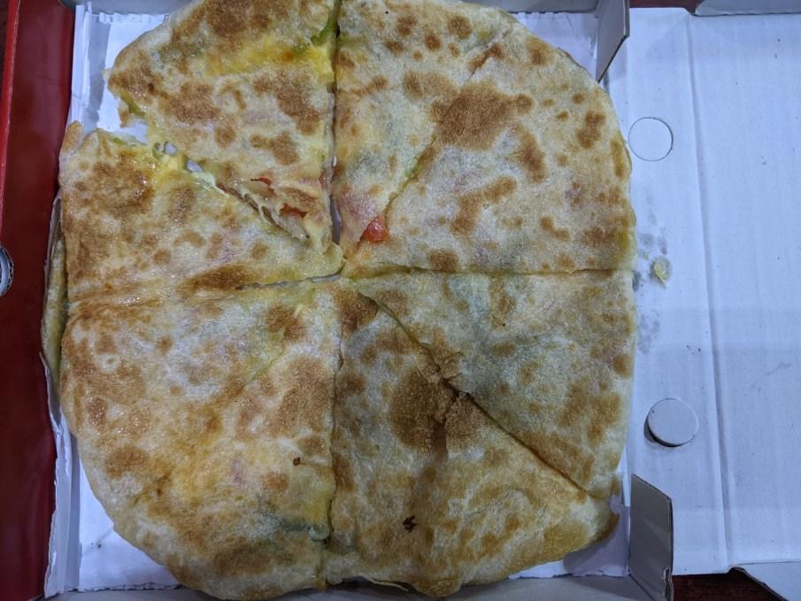 Egyptian Pizza - Feteer