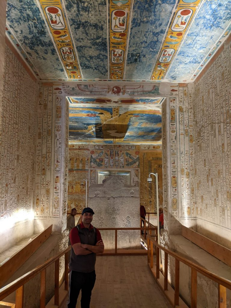 Valley of the kings - tomb of Ramses IV