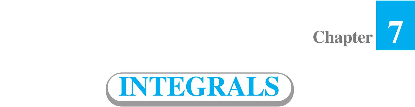 Integrals Class 12
