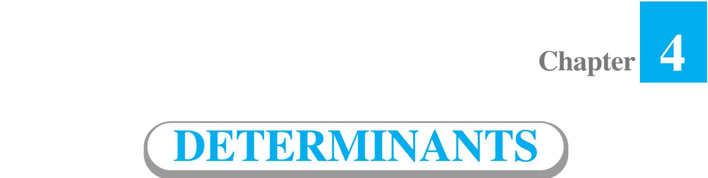4 Determinants Class 12 maths