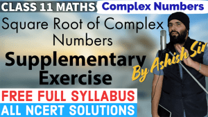 Complex Numbers Lecture 4