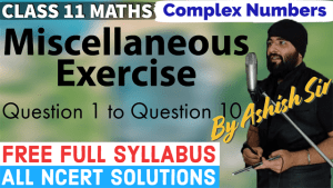 Complex Numbers Lecture 5