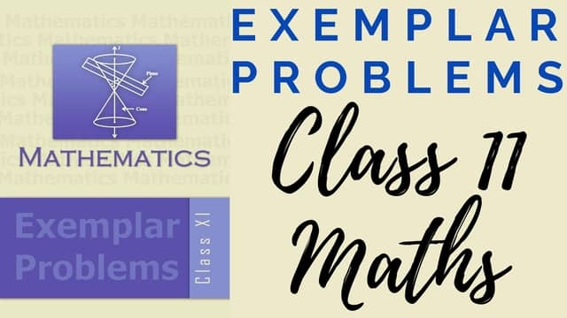 Exemplar Problems Class 11 Maths 640 x 360