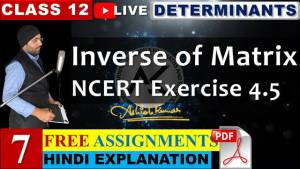 Determinants Lecture 7