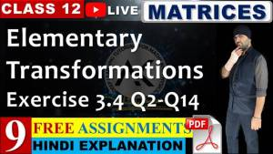 Matrices Lecture 9