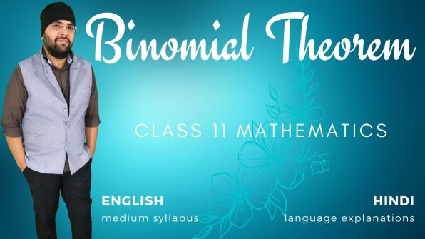 Binomial Theorem Class 11 Maths
