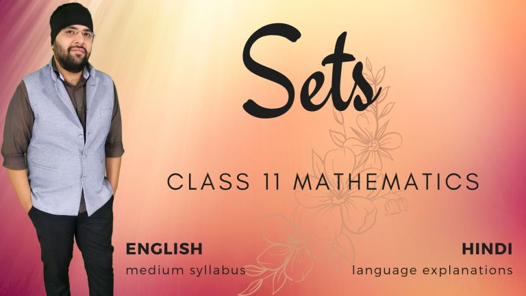 Chapter 1 Sets Class 11 Maths