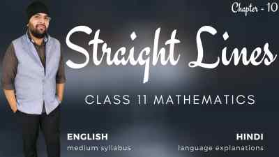 Straight Lines Class 11 Maths course 1200px