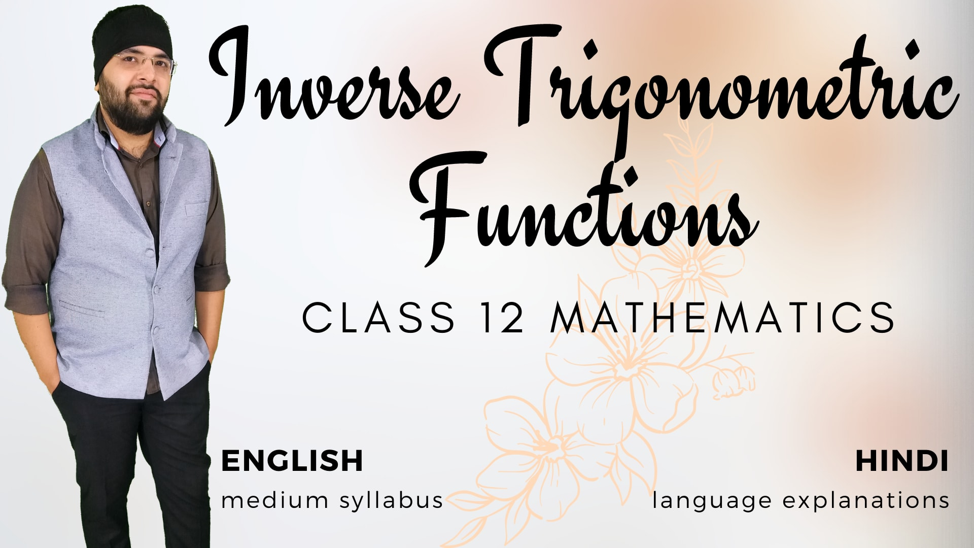 Inverse Trigonometric Functions v2
