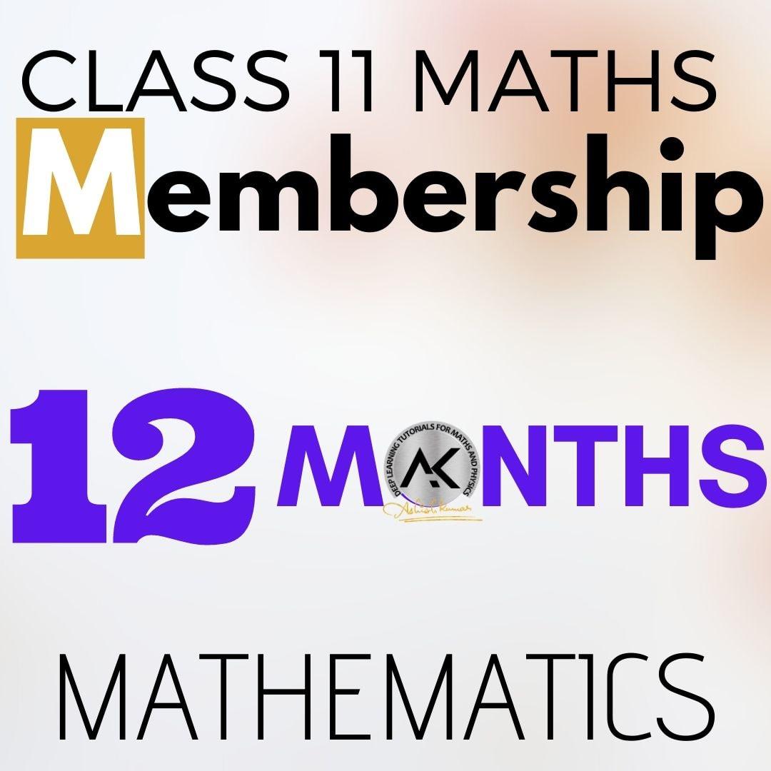 Class 11 Maths Membership 12 months 1080px