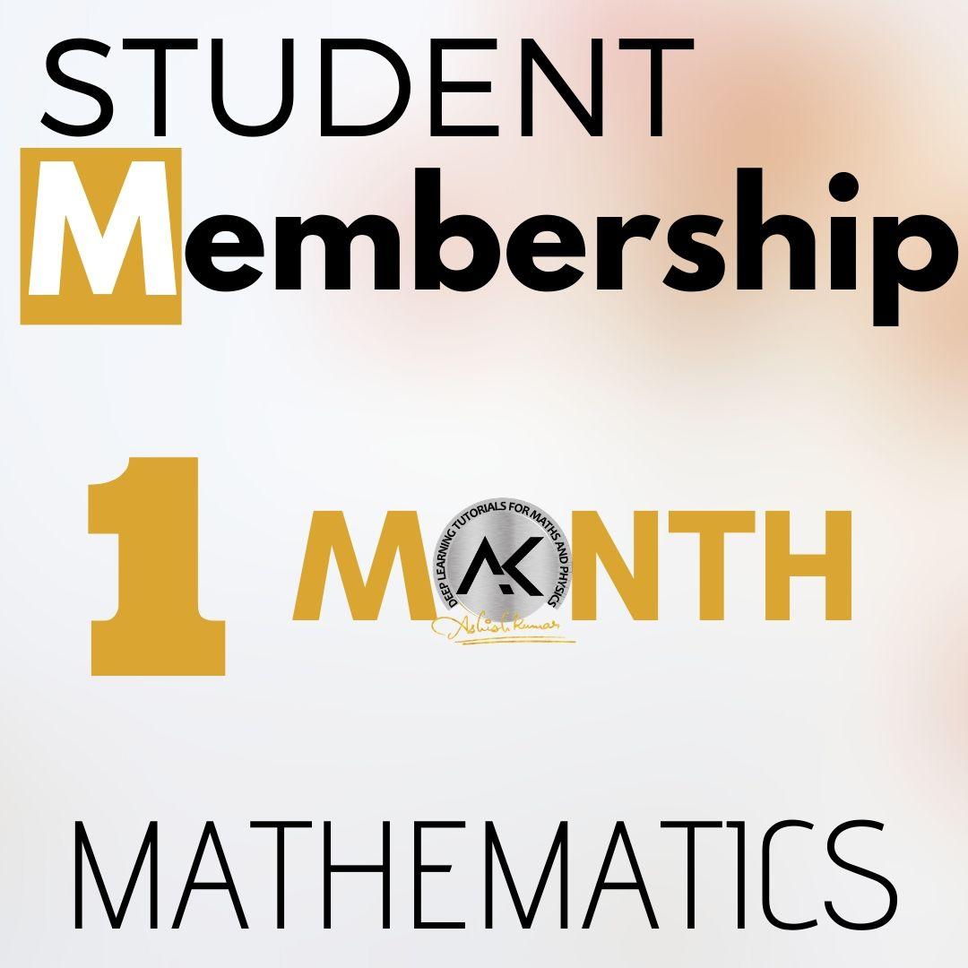 Student Membership 1 Month