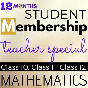 Student Membership 12 Months Teacher Special