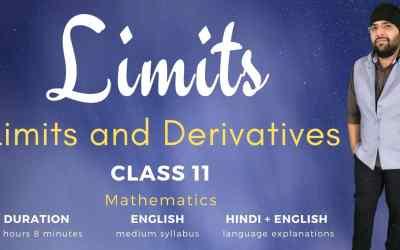 Ch13. Limits (Limits and Derivatives Part -1)