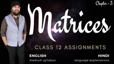 Matrices Assignments Class 12 Maths v3 1200px