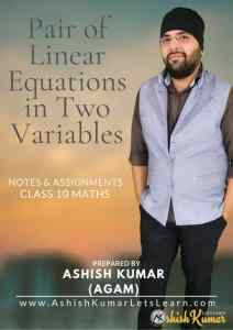 Pair of Linear Equations in Two Variables Banner 400px