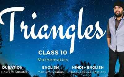 Ch6. Triangles – 1Y