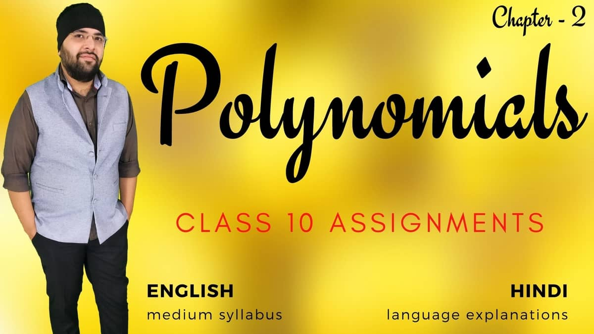 Polynomials Class 10 Assignments