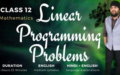 Ch12. Linear Programming Problems – 90D
