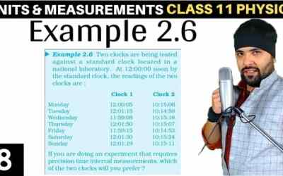 L8 – Example 2.6 – Units and Measurements