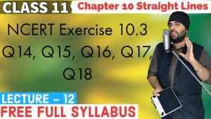 10. Straight Lines 12