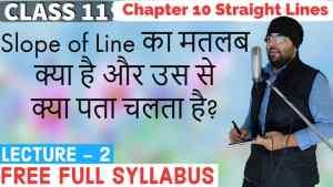 10. Straight Lines 2