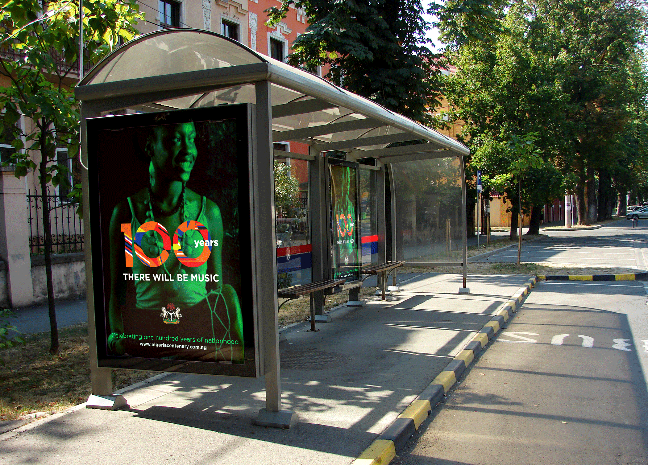 Bus-Stop I am Nigeria at 100