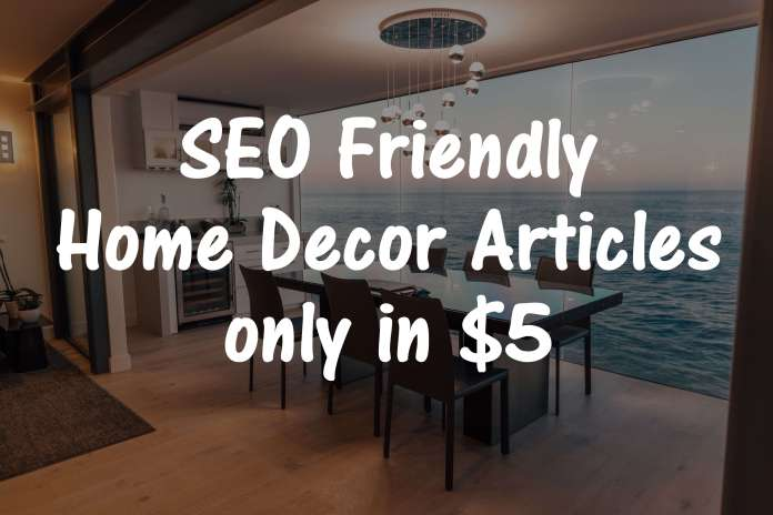 home decor gig thumbnail - FREE Fiverr Series - ASH KNOWS
