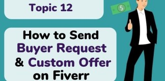 How to Send Buyer Request and Custom Offer on Fiverr - ASH KNOWS