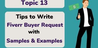 Tips to Write Fiverr Buyer Request