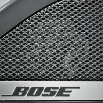 Expanded Mesh Bose Speakers