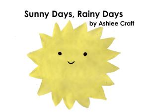 Sunny Days, Rainy Days by Ashlee Craft - Cover