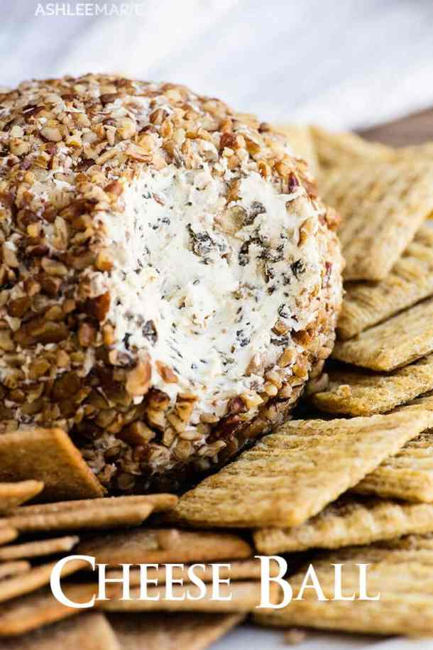classic cheese ball recipe and video
