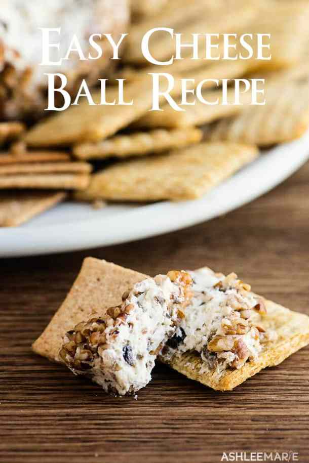 easy 4 ingredient cheese ball recipe