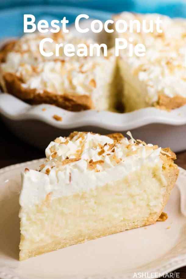 best coconut cream pie recipe and video