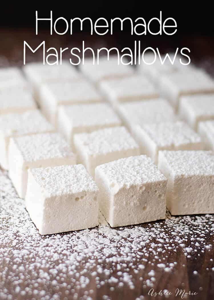 Homemade Marshmallows Ashlee Marie