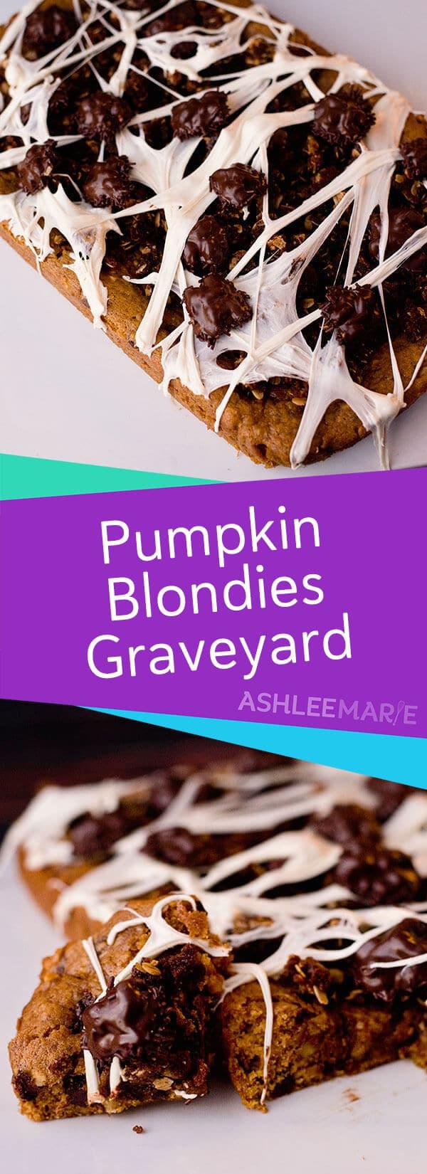 pumpkin blondie recipe